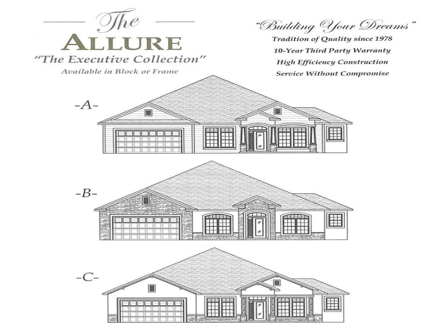 Allure - Elevation 1