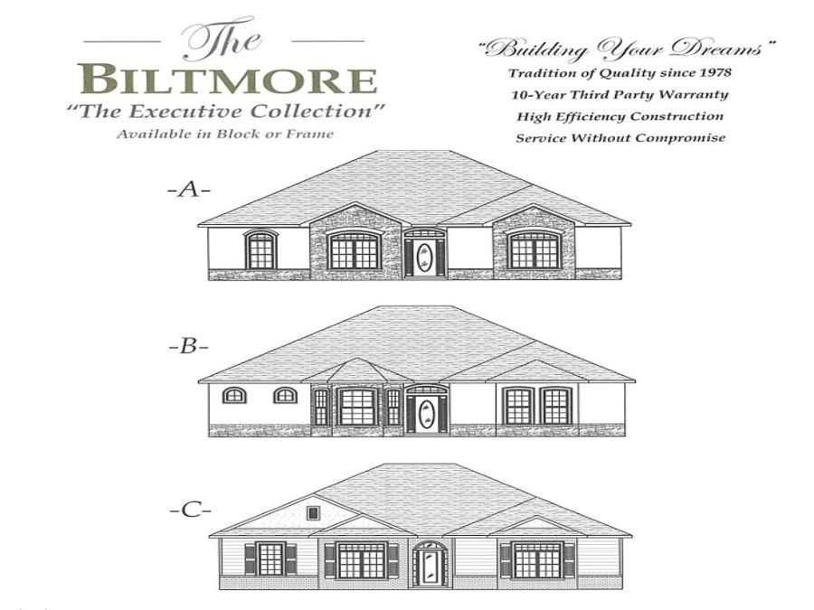 Biltmore - Elevation 1