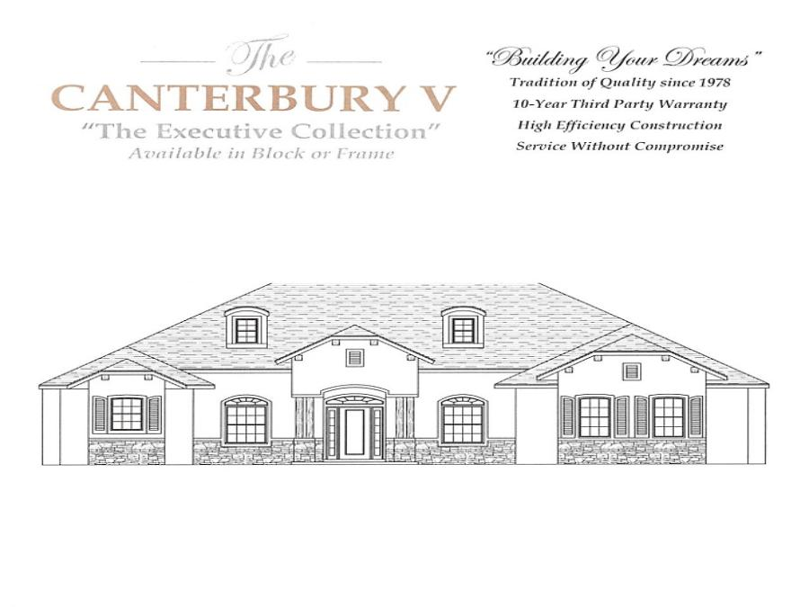 Canterbury V - Elevation 1