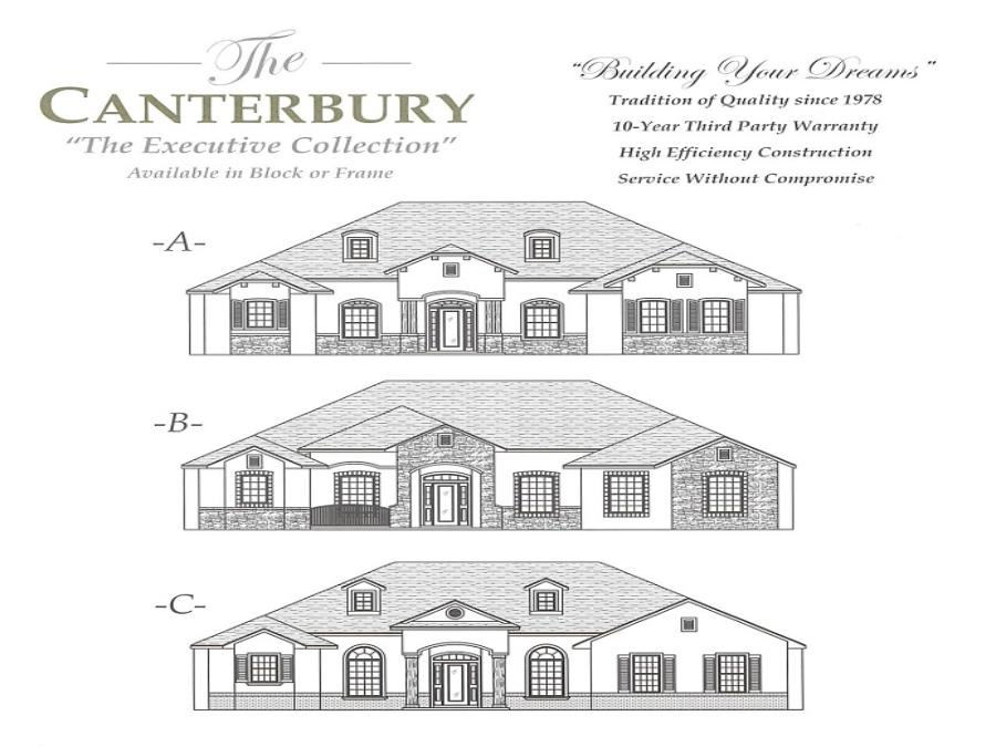 Canterbury - Elevation 1