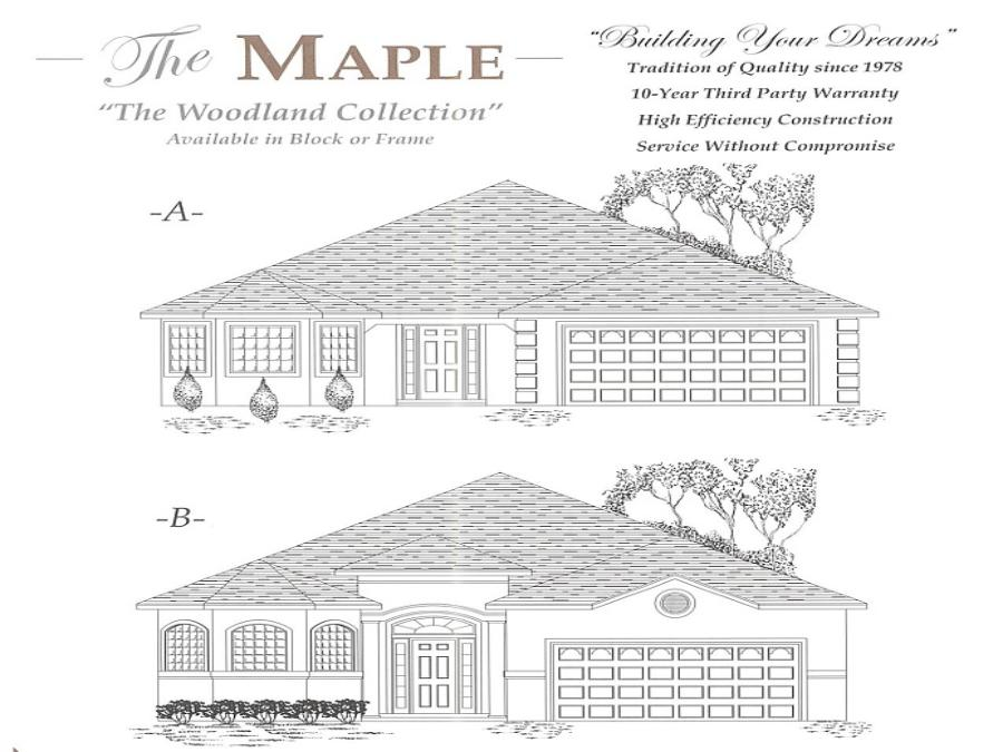 Maple - Elevation 1