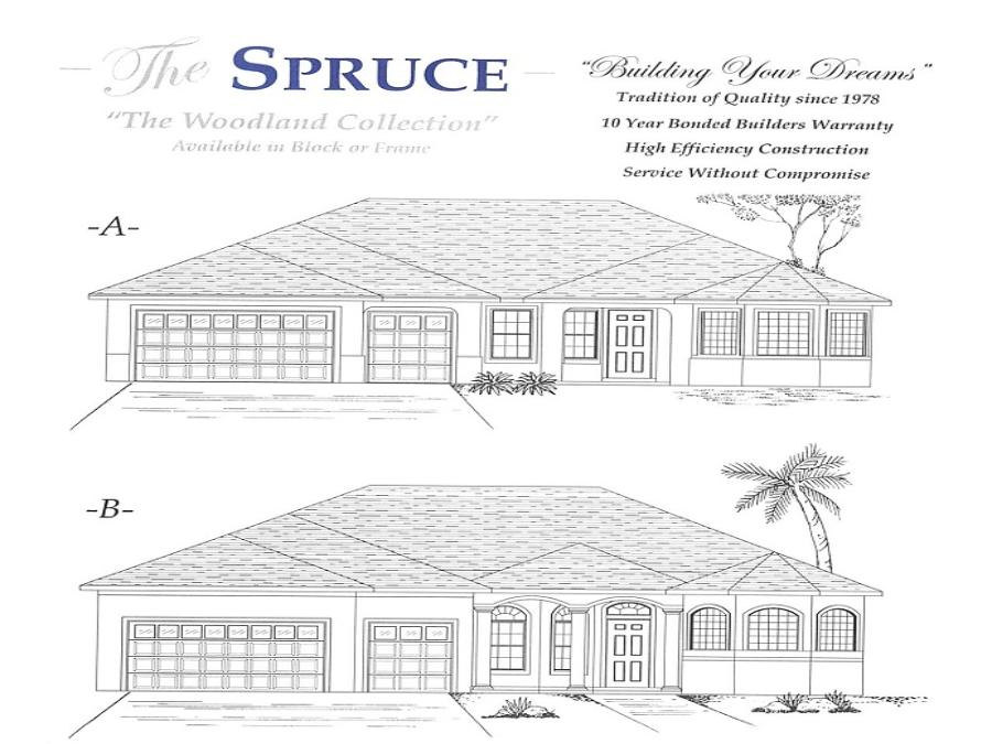 Spruce - Elevation 1