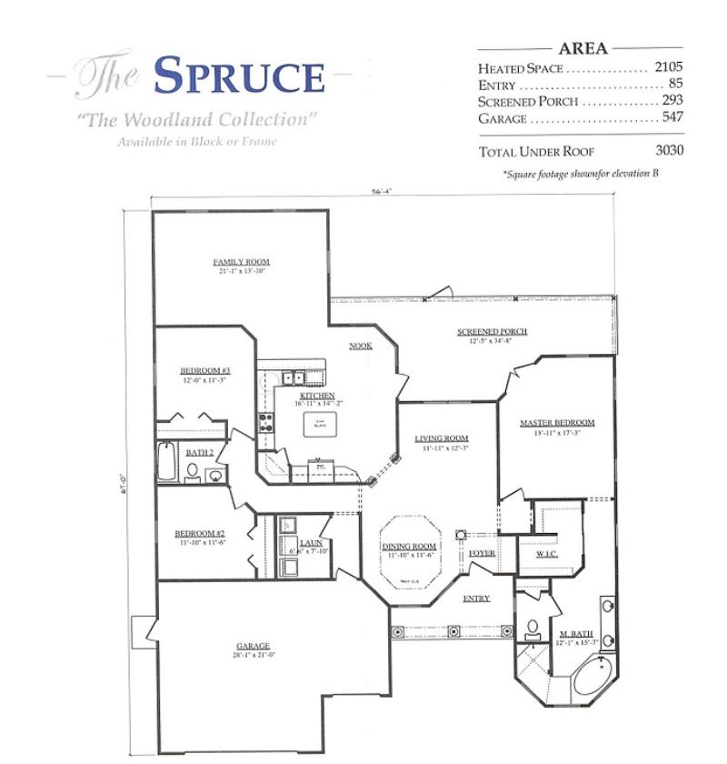 Spruce a 3 bedroom 2 bath home in stonecrest a new home for Armstrong homes floor plans