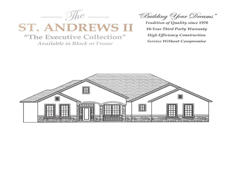 St. Andrews II - Elevation 1