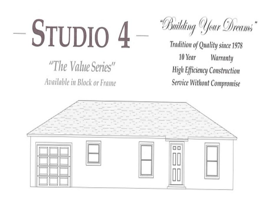 Studio 4 - Elevation 1