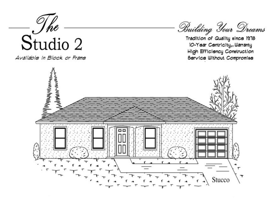 Studio 2 - Elevation 1