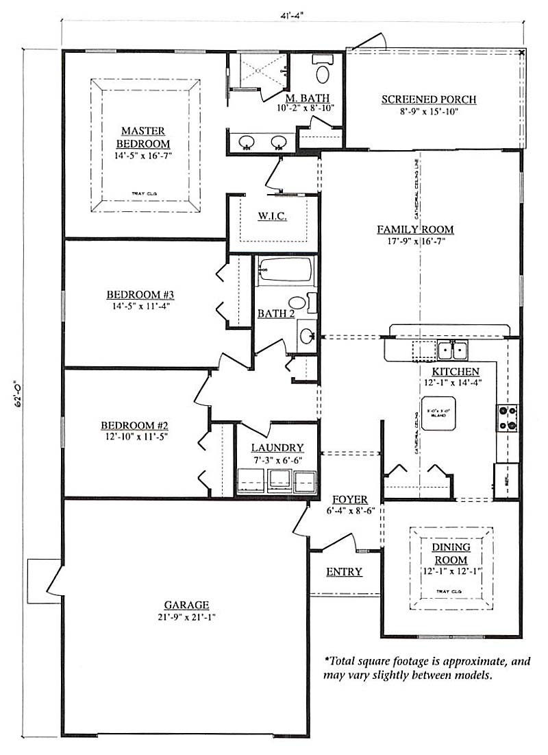 Cheyenne a 3 bedroom 2 bath home in jb ranch a new home for Armstrong homes price per square foot