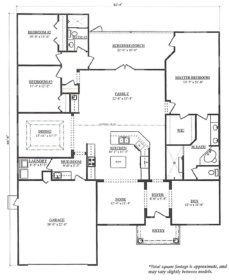 Frontier a 3 bedroom 2 bath home in bellechase the for Armstrong homes floor plans