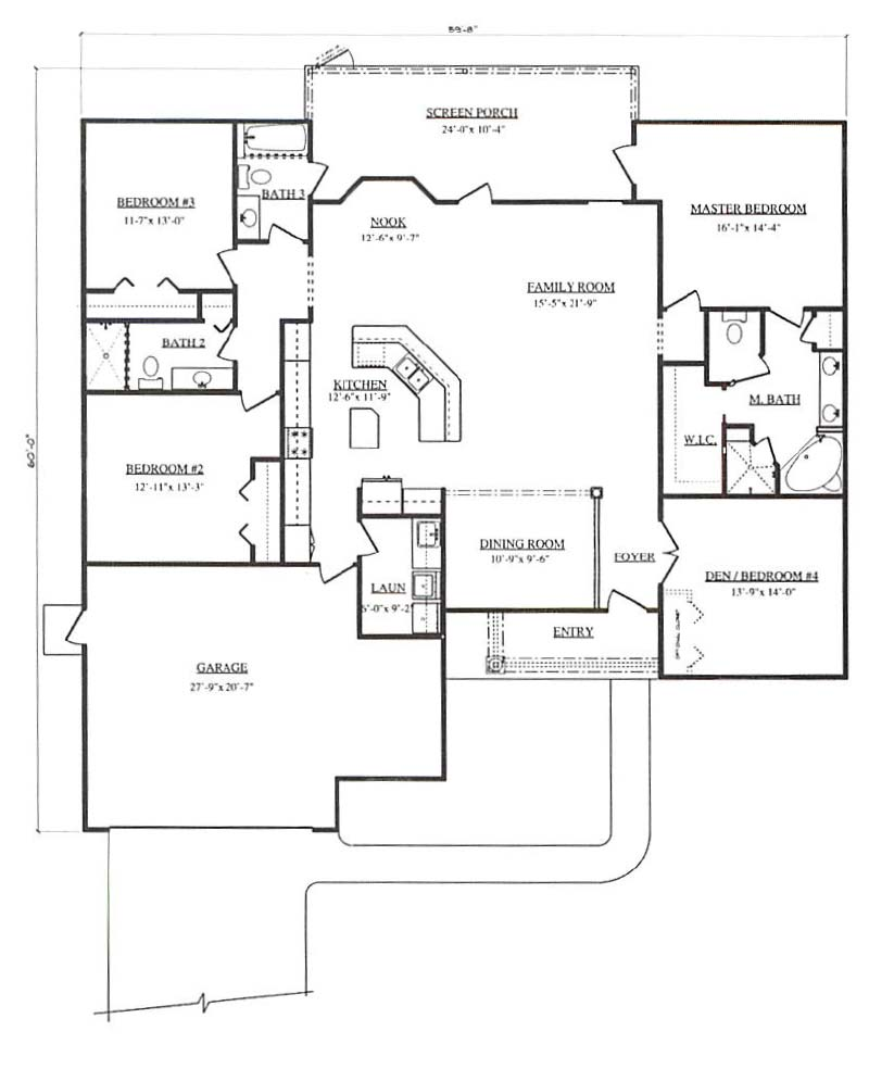 Longhorn a 3 bedroom 2 bath home in pepper tree village a for Armstrong homes floor plans