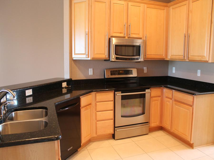 Stainless Steel Appliances are included